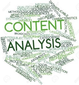 ITECH1102 | Content Analysis 1